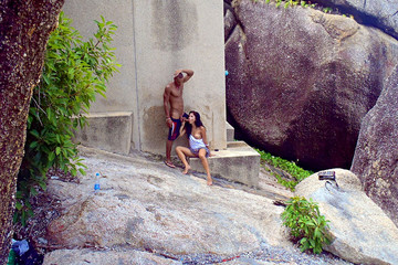 Fantastic Thailand sex vacation: Day 8 - Farewell outdoor sex scene, part 2
