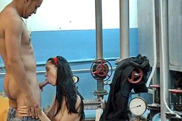 Couple fucking porn examination