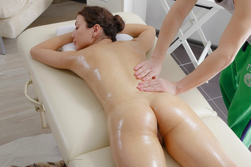 Extremely arousing HD massage video